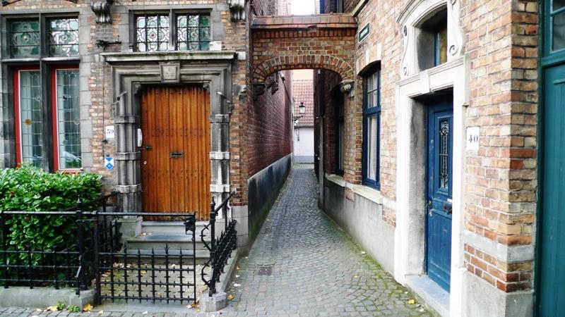 Streets in Bruges