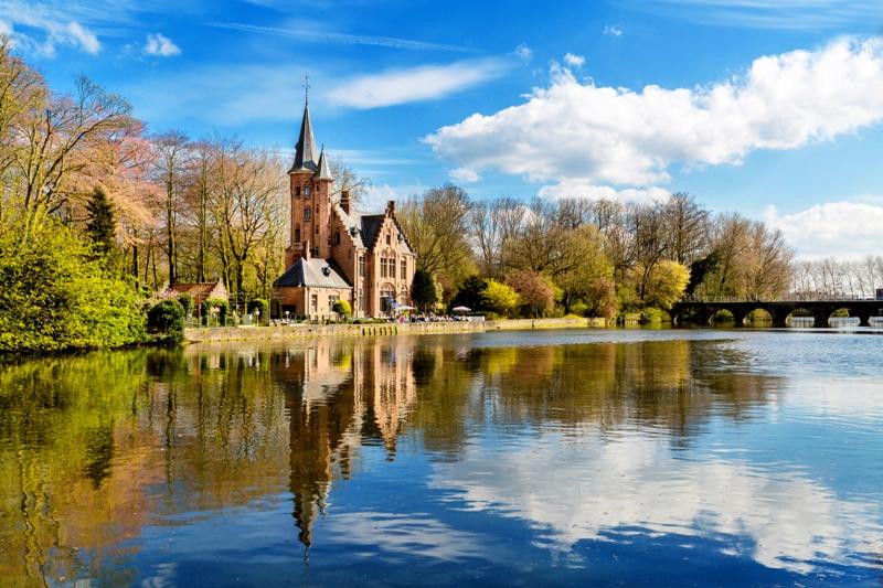 Castle near Bruges
