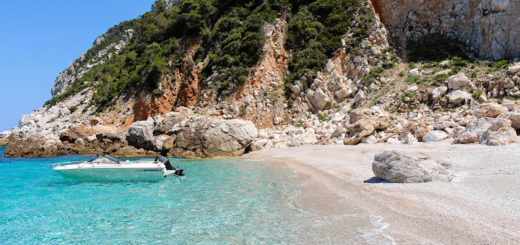 Skopelos island, from the Mamma Mia movie