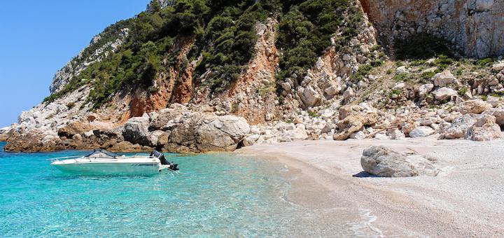 Skopelos island, from the Mamma Mia movie