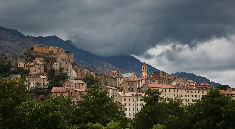 Corte in Corsica
