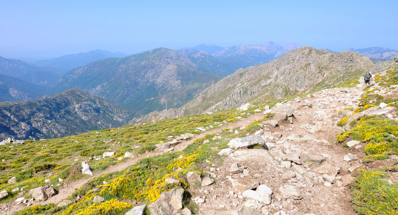 Corsica hiking path, GR 20