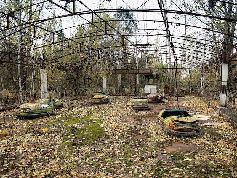Pripyat in Ukraine