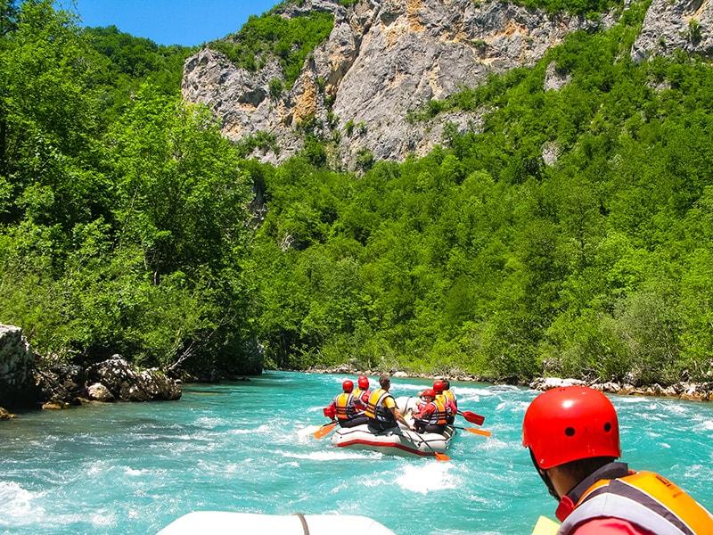 Rafting on Tara