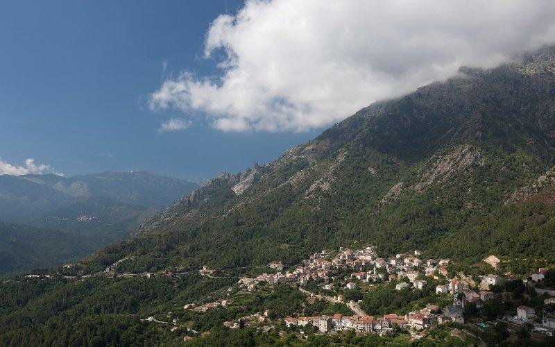 Santo Pietro Village in Corsica