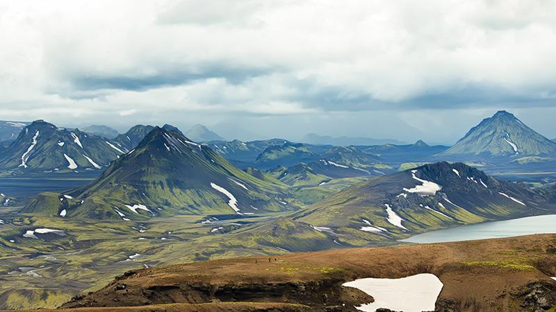 Laugavegur in Iceland