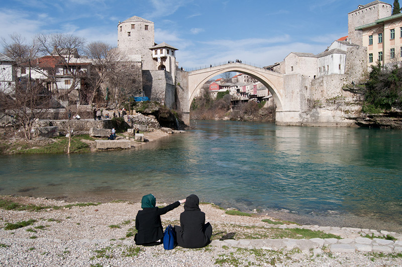 City of Mostar in Bosnia