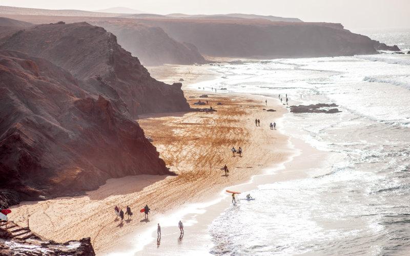 Coast of Fuerteventura