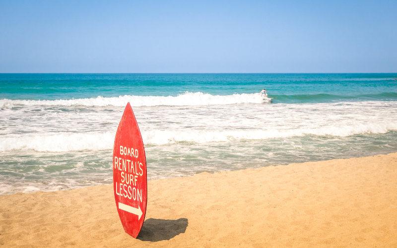 Hossegor surfing