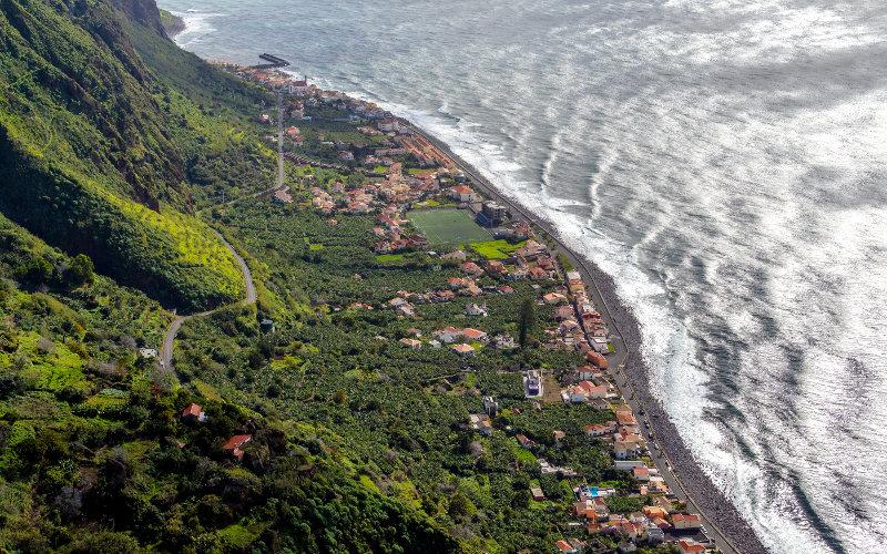 Madeira Island shore